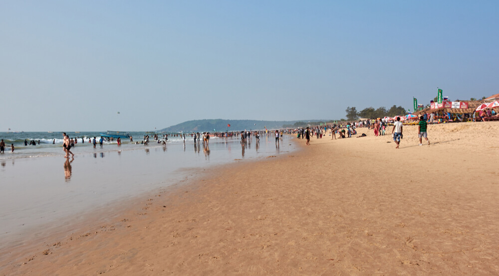 India. Goa. Calangute Beach