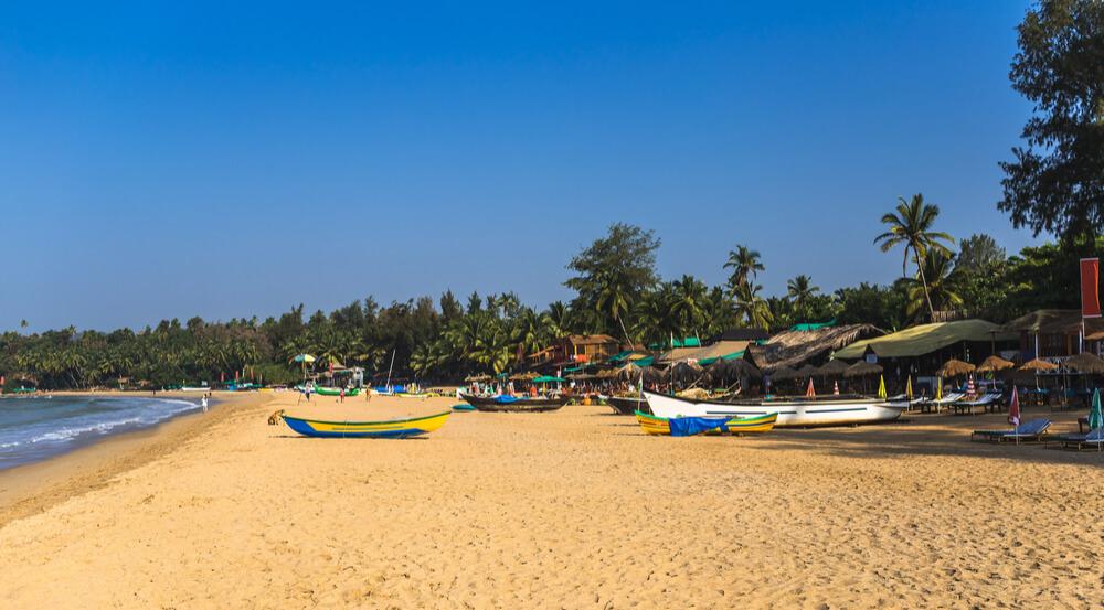 Patnem beach, Goa, India.