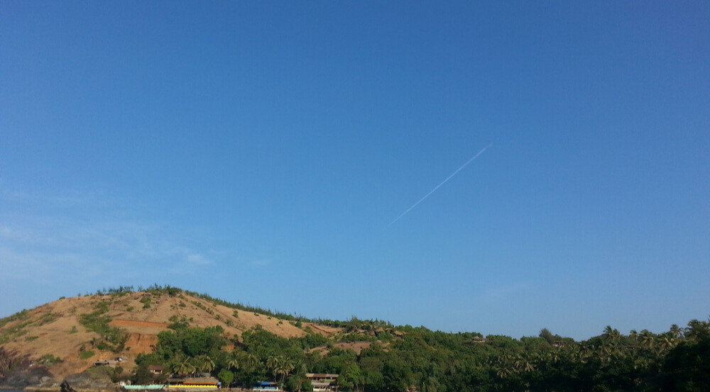 View of Kudle beach, Gokarna, Karnataka, India