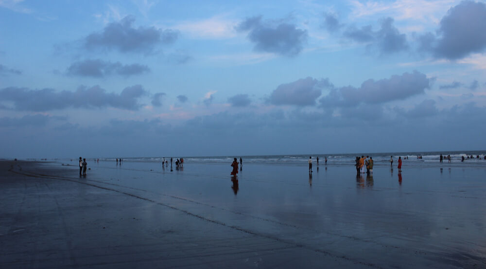 Mandarmani, Seaside resort village in West Bengal, India