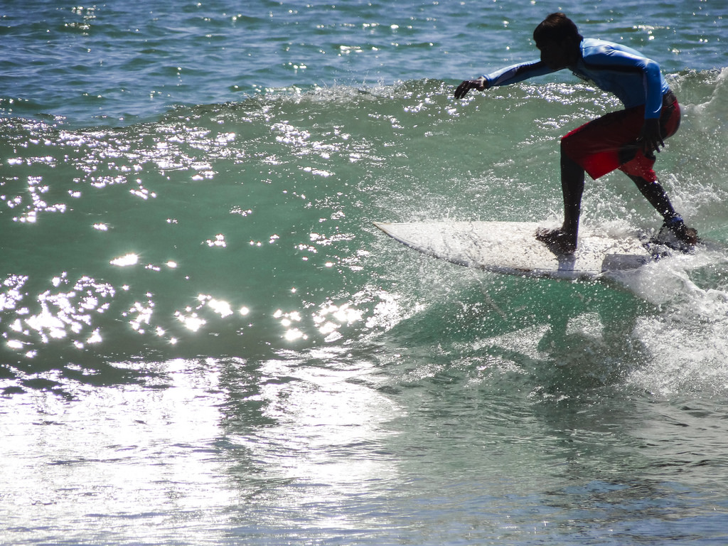 surfing kovalam