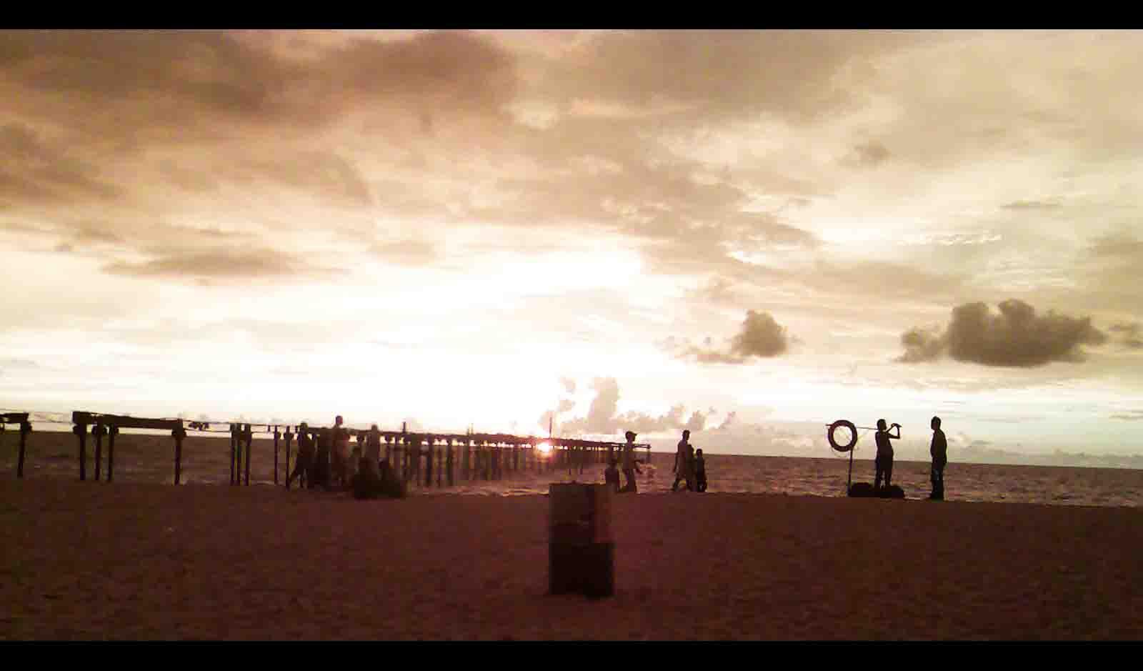 Alappuzha Beach.