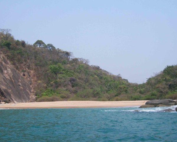 Butterfly Beach is a hidden beach in Goa
