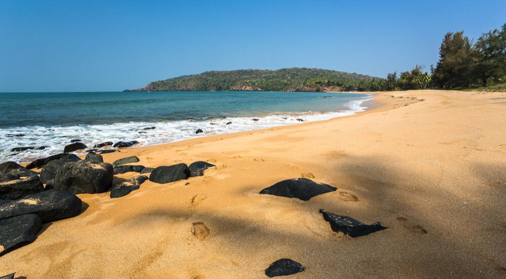 Polem beach, Goa ,India