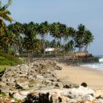 Kollam, Kerala, India- the coastal line of Arabian Sea