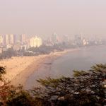 Mumbai, India - December 29, 2016: Girgaum Chowpatty Beach is one of the most famous beaches in Mumbai