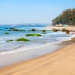 Keri or Kerim or Querim beach in North Goa, India